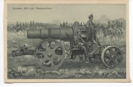 1914-18  OESTERR.  30 1/2 Cm MOTORMÖRSER    -  ÖSTERREICHISCHE ARMEE - Ausrüstung