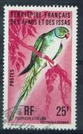 Afars & Issas (French Djibouti), Bird, Rose-ringed Parakeet, 1976, VFU - Afars & Issas (1967-1977)