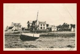 Plougasnou * Terenes * Un Coin Du Port      ( Scan Recto Et Verso ) Froissure Angle - Plougasnou