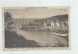 Pléneuf-Val-André (22) :  MP D'un Bateau 2 Mâts Dans Le Port De Dahouët Et Vue Sur La Balise Et L'oratoire En 1930 PF. - Pléneuf-Val-André