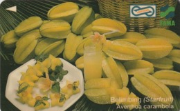 MALASIA. FRUTAS. Starfruit. 10$. 1995. 3USBB. (030) - Malasia