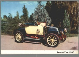 CPM Automobile - Renault 7cv 1907 - Passenger Cars