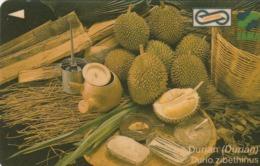 MALASIA. FRUTAS. Durian. 10$. 1995. 3USBA. (031) - Malasia