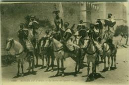LIBYA - SCENES ET TYPES - LA NOUBA DES SPAHIS - EDIT LL 1910s (5532) - Libia