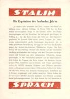 "WWII WW2 Flugblatt Tract Leaflet Soviet Propaganda Against Germany ""STALIN SPRACH"" CODE 1093 - 15.11.44 (1) - 1939-45"