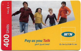 Syria - MTN - Pay As You Go, 4 Friends, GSM Refill 400Units, Exp.31.12.2009, Used - Siria