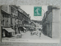 LUXEUIL      LA RUE CARNOT - Luxeuil Les Bains