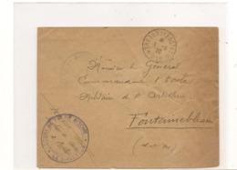 FRANCE 1920 ENVELOPPE F.M. TRÉSOR ET POSTES POUR PARIS DU 1/6/20 - 1877-1920: Semi-moderne Periode