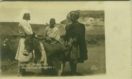 AFRICA - LIBIA / LIBYA - PEDDLER / VENDITORE AMBULANTE - RPPC POSTCARD 1910s (5534) - Libia
