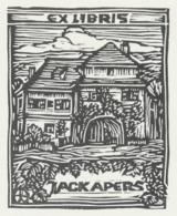 Ex Libris Jack Apers - Otto Feil - Ex-libris