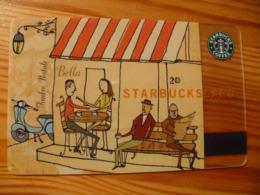 Starbucks Gift Card USA Old Logo - 2002 6009 - Gift Cards