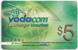 Tanzania - Vodacom - Recharge Voucher - GSM Refill 5$, Exp.13.03.2005, Used - Tanzania