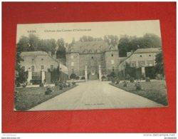 XHOS - ANTHISNES  -   Château Des Comtes D' Oultremont   -   1913    - - Anthisnes