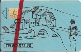 CARTE-PRIVEE-50U-EN628-SO3-03/93-L AUTISME-NSB-TBE  -LUXE - France
