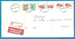 1903+1960+2136 Op Brief Aangetekend Per EXPRES Met Stempel BRUGGE 23 - 1981-1990 Velghe