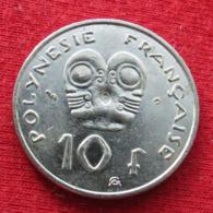 French Polynesia 10 Francs 2002 KM# 8 Polynesie Polinesia - French Polynesia