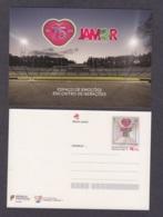 34.- PORTUGAL 2019 POSTAL STATIONERY SPORT CENTER JAMOR - 75 YEARS - Enteros Postales