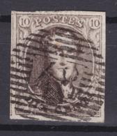 N° 6  Margé 48  GENAPPE COBA +12.00 ( Bdf  Lettres En Filigrane ) - 1851-1857 Medallones (6/8)