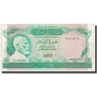 Billet, Libya, 10 Dinars, KM:46a, TTB - Libië