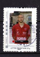FRANCE COLLECTOR MONTIMBRAMOI Chaher Zarour Football Club Dijon Oblitéré - Personalizzati (MonTimbraMoi)