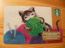 Starbucks Gift Card USA - 2015 6113 Cat - Gift Cards