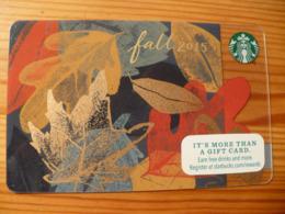 Starbucks Gift Card USA - 2015 6111 - Gift Cards