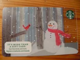 Starbucks Gift Card USA - 2015 6111 Christmas - Gift Cards