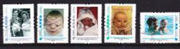 FRANCE COLLECTOR MONTIMBRAMOI LOT 5 Timbres Enfants, Parents, Bébés  Oblitéré - Personalisiert (MonTimbraMoi)