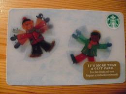 Starbucks Gift Card USA - 2016 6130 Christmas, Lenticular, 3D - Gift Cards