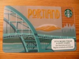 Starbucks Gift Card USA - 2015 6109 Portland - Gift Cards