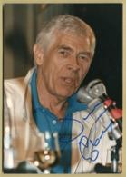 James Coburn (1928-2002) - Authentic Signed Original Photo - Deauville 86 - COA - Autógrafos