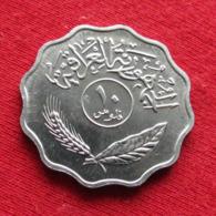 Iraq 10 Fils 1975 KM# 126a Iraque Irak - Iraq