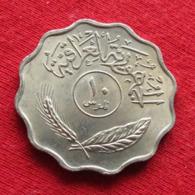 Iraq 10 Fils 1971 KM# 126a Iraque Irak - Iraq