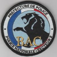 Écusson Police BAC Paris 2ème Secteur - Polizia