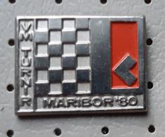 Chess Grandmaster Tournament Maribor 1980 échecs Ajedrez Schach Scacchi SLOVENIA Ex Yugoslavia Pin - Pin's