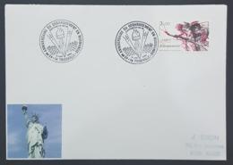 1989 Cover, Enveloppe, Trouville, 45eme Anniversaire Du Debarquement En Normandie, France, Republique Française - France