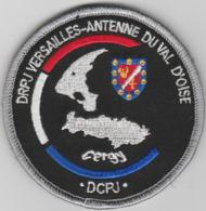 Écusson Police Judiciaire - Antenne De Cergy (95) - Polizia