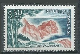 France YT N°1391 Cote D'Azur Varoise Neuf ** - Nuovi