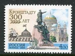 RUSSIA 2004 Tercentenary Of Kronstadt MNH / **.  Michel 1155-66 Zd-B - 1992-.... Federación