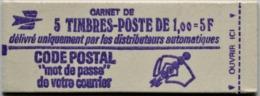 Carnet 1892 - C1 - Marianne De Béquet - 5 Timbres - Fermé - Parfait état     *** Voir 2 Scans ***   /P166 - Definitives