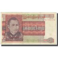 Billet, Birmanie, 25 Kyats, KM:59, TB - Myanmar