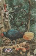 MALASIA. FAUNA. AVES. Crestless Fireback. 10$. 1992. 13MSAC. (011) - Pájaros