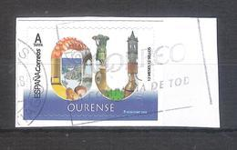 España 2019 - 1 Sello Usado Autoadhesivo. Ourense-Serie Provincias De España-Espagne Spain Spanien - 1931-Hoy: 2ª República - ... Juan Carlos I