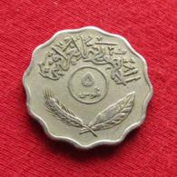 Iraq 5 Fils 1971 KM# 125 Copper-nickel Iraque Irak - Iraq