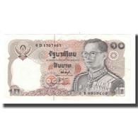 Billet, Thaïlande, 10 Baht, BE2523 (1980), KM:87, NEUF - Thailand