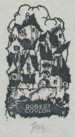 Ex Libris Robert Covlon - Otto Feil - Ex-libris