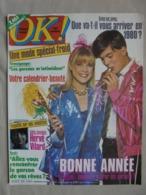 Ancien - Revue OK Magazine N° 207 31 Décembre 1979/06 Janvier 1980 - People