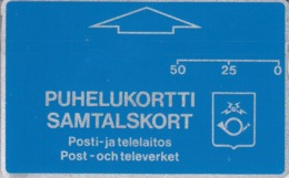 Puhelukortti Samtalskort - Finlande