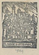 Ex Libris Annie Und Otto Feil - Ex-libris