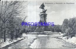 123528 CHILE MAGALLANES MONUMENTO A HERNANDO POSTAL POSTCARD - Chile